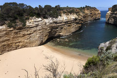 View from the great ocean road Royalty Free Stock Photos