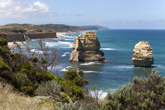 View from the great ocean road Stock Image