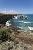 View from the great ocean road Royalty Free Stock Image