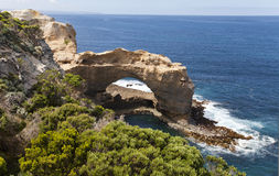 View from the great ocean road Stock Photos