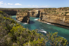 View from the great ocean road Royalty Free Stock Photography