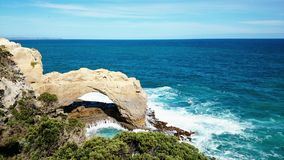 View at Great Ocean Road Royalty Free Stock Photo