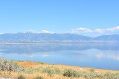 Great Salt Lake in Utah Royalty Free Stock Photo