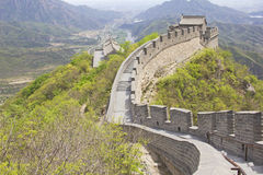 View of the Great Wall of China Stock Photo