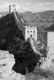View of Great Wall - China Royalty Free Stock Photo