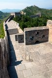 View of Great Wall of China Stock Photography