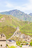 View of the Great Wall of China Royalty Free Stock Photo