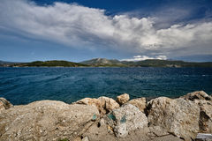 View from the Greek island of Lefkada Royalty Free Stock Photography