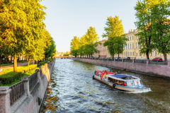 View of the Griboyedov Canal. Saint Petersburg Royalty Free Stock Image