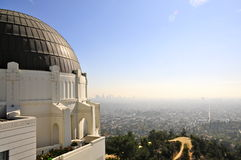 View From Griffith Observatory Stock Photography
