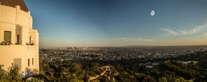 View from Griffith Observatory Stock Images