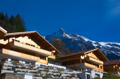 View on Grindelwald Stock Photos