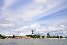 View on Gripsholm Village, Sweden Stock Image