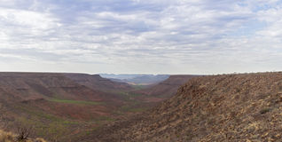 View from Grootberg Plateau Stock Image