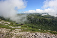 View from Gros Morne Mountain Stock Photography