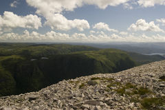 View from Gros Morne Mountain Stock Photos