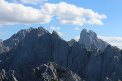 View from Grosser Donnerkogel Royalty Free Stock Photo