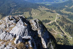 View from Grosser Donnerkogel Royalty Free Stock Image