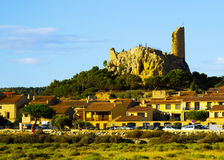 View of Gruissan.   France Stock Photo