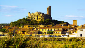 View of Gruissan. France Royalty Free Stock Images