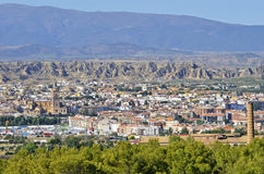 View of Guadix Royalty Free Stock Photos