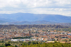 View of Guadix, Granada Royalty Free Stock Photography