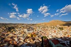 View of Guanajuato city, Mexico Royalty Free Stock Photos