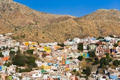 View of Guanajuato city, Mexico Royalty Free Stock Photography