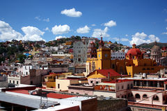 A view of Guanajuato, Mexico Royalty Free Stock Image