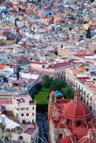 View of Guanajuato, Mexico Royalty Free Stock Photos