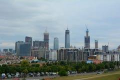 View of Guangzhou city, China Stock Photos