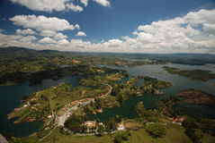 View from Guatape - Colombia Royalty Free Stock Image