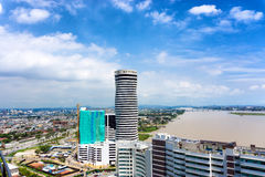 View of Guayaquil, Ecuador Stock Photography