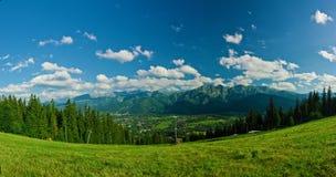 View from Gubalovka Royalty Free Stock Photos