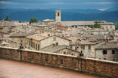 View of Gubbio Royalty Free Stock Image
