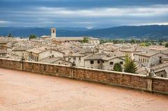 View of Gubbio Stock Photos