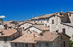 View of Gubbio. Umbria. Royalty Free Stock Photos
