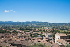View of Gubbio. Umbria. Royalty Free Stock Photography