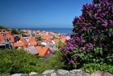 View of Gudhjem on Bornholm Royalty Free Stock Photos