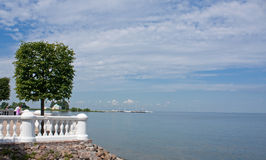 View on Gulf of Finland. Peterhof Stock Photography