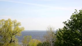 View of the Gulf of Finland stock video