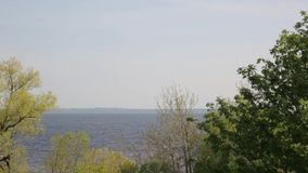 View of the Gulf of Finland stock video footage
