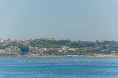 View of the Gulf of Pozzuoli Stock Images