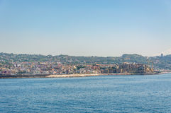 View of the Gulf of Pozzuoli Royalty Free Stock Photography
