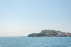 View of the Gulf of Pozzuoli Royalty Free Stock Images