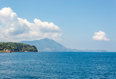 View of the Gulf of Pozzuoli Stock Photography