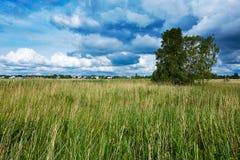 View in Haapsalu, Estonia. 2015 stock images