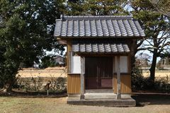 Hachidairyuo Shrine a Japanese Shinto shrine. Royalty Free Stock Images