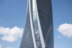 View of the Hadid tower