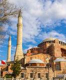 View of Hagia Sophia (Holy Wisdom) - Istanbul Royalty Free Stock Images